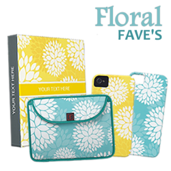 Floral Customizeable Gifts & Accessories