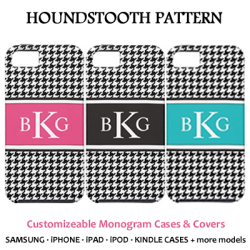 Trendy Monogram Cases and Covers
