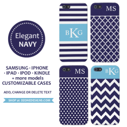 Personalized Monogram Cases & Covers